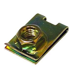 クリップナット 6mm ナンバープレート用 単品 盗難防止に|toolshop-dream