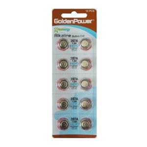 ボタン電池 LR44 1.5V 357A 10個セット|toolshop-dream