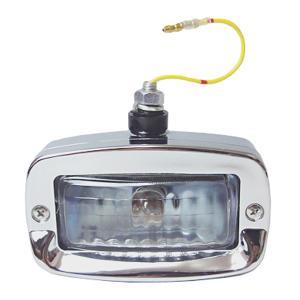 汎用バックランプ 12V20W プラスチック製 銀 バルブ付|toolshop-dream