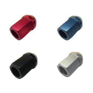 カラーホイールナット 国産 ショート アルミ 貫通 19HEX 34mm|toolshop-dream
