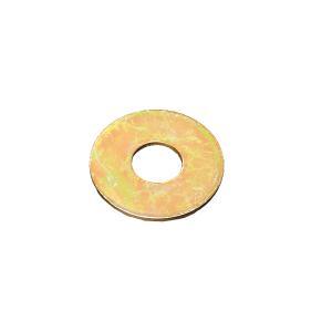 超特大 平ワッシャー クロームメッキ製 10×30 1枚|toolshop-dream