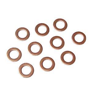 銅 ワッシャー 10枚セット  内径6mm 外径10mm|toolshop-dream
