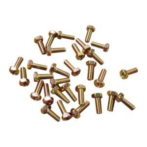 ボルト ネジ クロームメッキ製 ピッチ1.0 サイズ6×16 30個セット|toolshop-dream