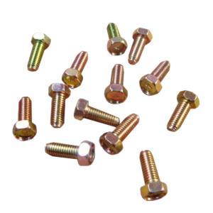 ボルト ネジ クロームメッキ製 ピッチ1.25 サイズ8×20 13個セット|toolshop-dream