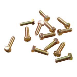 ボルト ネジ クロームメッキ製 ピッチ1.25 サイズ8×25 13個セット|toolshop-dream