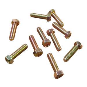 ボルト ネジ クロームメッキ製 ピッチ1.25 サイズ8×30 10個セット|toolshop-dream