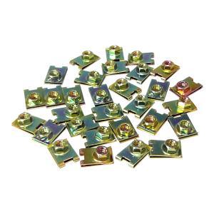 クリップナット 6mm 30個セット|toolshop-dream