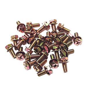 ナンバープレート取付用ボルトビス 6mm×15mm 標板協会納入用 30個セット|toolshop-dream