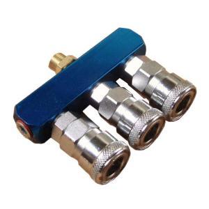 エアー3連カプラー 3又分岐カプラー コンプレッサー直結タイプ toolshop-dream
