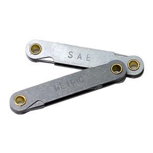 ピッチゲージ ミリインチサイズ2個セット|toolshop-dream