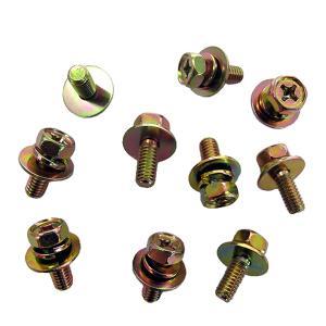平ワッシャー 径16mm ボルト径6mm ヘッド10mm 全長20mm 10個入|toolshop-dream