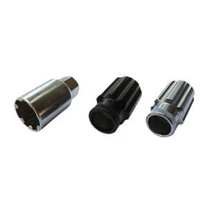 ホイールナット クロモリ スチール ロックナット 17HEX ロング レーシング 貫通|toolshop-dream