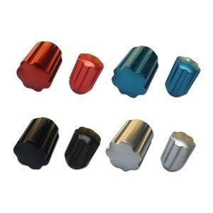 カラーホイールナット ショート ロックナット アルミ 袋 19HEX|toolshop-dream