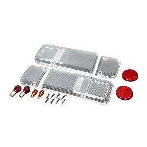 ホンダ アクティトラック 1988.5〜 オールクリア仕様テールレンズ左右セットc-cup絶版|toolshop-dream
