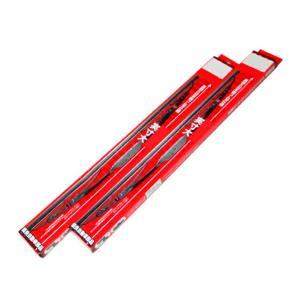 キャデラック XLR-V (05〜) 国産グラファイトワイパー 左右セット 交換ゴム付|toolshop-dream