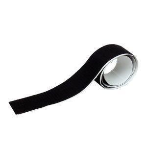 業務用 超強力 面ファスナー 黒 幅50mm×1Mオスのみ強粘着裏糊付 マジックテープ|toolshop-dream