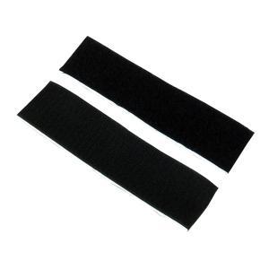 業務用 超強力 面ファスナー 黒 幅50mm×20cmオスメスセット強粘着裏糊付 マジックテープ|toolshop-dream