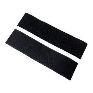 業務用 超強力 面ファスナー 黒 幅50mm×20cmオスメスセット裏糊なし/縫い付け用 マジックテープ|toolshop-dream