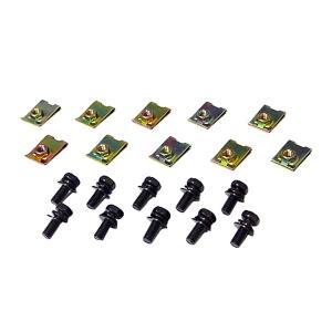 クリップナット& クロメートボルト 5mm 10セット|toolshop-dream