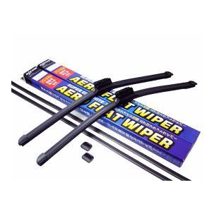フィアット プント 1999〜2010 エアロワイパー 左右セット 交換ゴム付 toolshop-dream