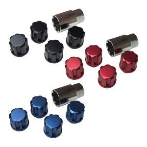ロックナット4個とキーソケット1個のセット価格です。  この商品は国内の優れた技術を誇る大手製造メー...