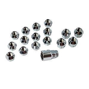 ホイールナット 国産 ショート 超ミニ貫通 ナット ロックナットセット 17HEX 16mm|toolshop-dream