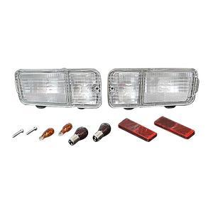 ダイハツ ハイゼットトラック 210系 オールクリア仕様 テールランプユニット セット|toolshop-dream