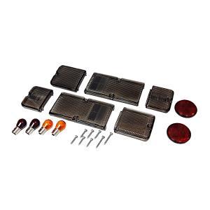 スズキ ジムニー テールレンズ スモーク 純正バンパー専用|toolshop-dream