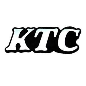 KTC 京都機械工具エンブレム 80mm×28mm 工具箱や車のドレスアップに|toolshop-dream
