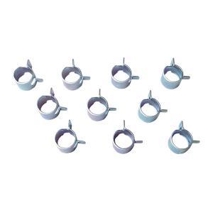 燃料ホースバンド 三化クロメート加工 RS-2 最大時径12.2mm 10個セット toolshop-dream