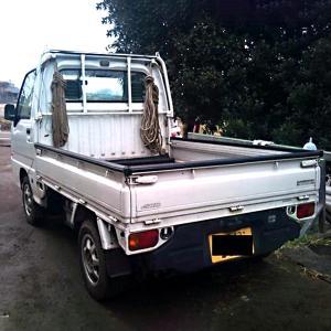 国産 荷台 ゲートプロテクター カバー付 軽トラック 荷台 あおり 丸型|toolshop-dream