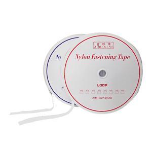 業務用 超強力 面ファスナー 白 幅25mm×25Mオスメスセット強粘着裏糊付 マジックテープ|toolshop-dream