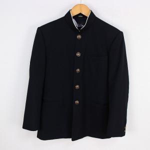 学生服 カンコー KANKO 標準型学生服 上着 160A 学ラン ラウンドカラー ウール混 カシド...