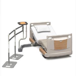 パラマウントベッド 楽匠Zシリーズ専用 アクセスポート 歩行用手すりセット 2連