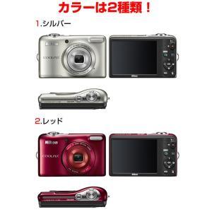 ◆送料無料◆ Nikon ニコン 2005万画素 デジカメ 光学5倍ズーム 2電源対応(乾電池/バッテリー) ◇ COOLPIX L32|top1-price|06