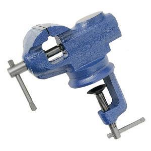ヘッド部分が360度回転! 素材を挟んだまま、向きの調整が自由自在。  ◆クランプ固定式 … 作業台...