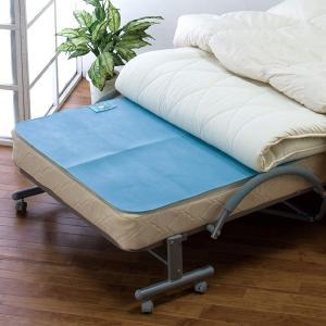 除湿シート シングル 布団用 90cm×180cm 吸湿センサー付き 天日干しで繰り返し使える 防臭...