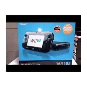 新品 Wii U 本体 プレミアムセット kuro クロ ウ...