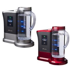 ルルド 高濃度水素水生成器 Lourdes ワインレッド シャインシルバー 水素水 サーバー  送料無料 topatokyo