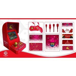 「NEOGEO mini クリスマス限定版」には、「本体」、「電源ケーブル」、「NEOGEO min...