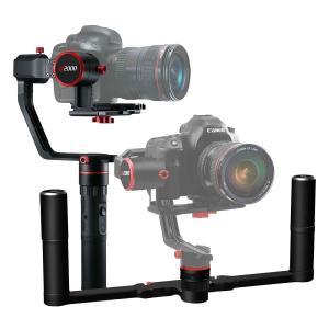 Feiyu Tech(フェイユーテック) a2000 ダブルハンドル付き 3軸カメラスタビライザー ...