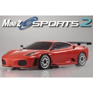 在庫あり 京商 32240R ミニッツMR03スポーツ2 R/S フェラーリ 430GT レッド ラジコン topgear-web