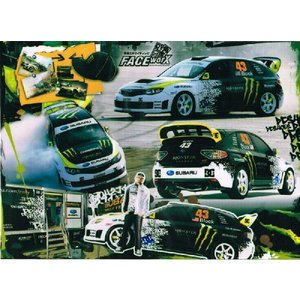 FACE-Worx 46033 Subaru DC Moster デカールセット(FWD004)|topgear-web