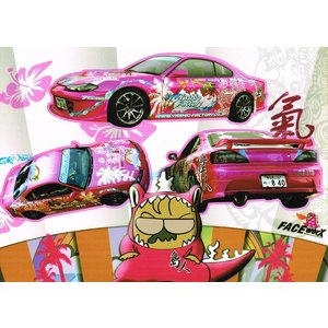 FACE-Worx 46034 Yashio Factory Decals Set デカールセット(FWD005)|topgear-web