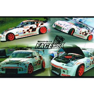 FACE-Worx 74005 Max Power Style デカールセット(FWD010)|topgear-web