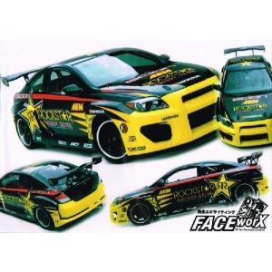 FACE-Worx 74018 RockStar Formula Drift デカールセット(FWD013)|topgear-web