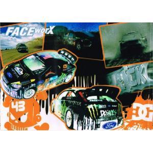 FACE-Worx 74032 Ken Block 2010 Foucs デカールセット(FWD018)|topgear-web