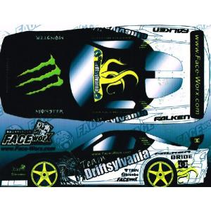 FACE-Worx 74042 Driftsylvania Team 2010 D1 Style デカールセット(FWD023)|topgear-web