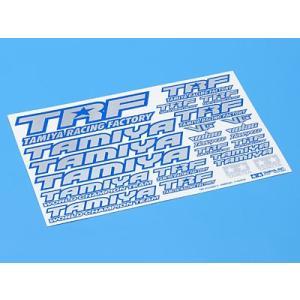 タミヤ 42237 TRFステッカーC(ブルーエッジ/ミラー)【定型外郵便全国一律 260円】|topgear-web