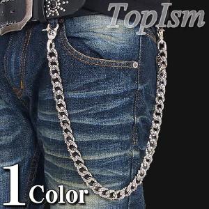 ウォレットチェーン メンズ メタル アクセサリー|topism